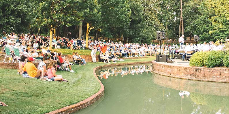 City of Aiken PRT Seeks Input for Hopelands Summer Concert Series