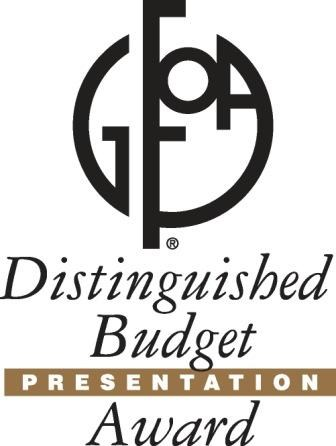 GFOA Distinguished Budget Presentation Award