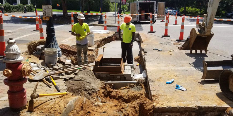 Downtown Utility Construction Update 8/9/18