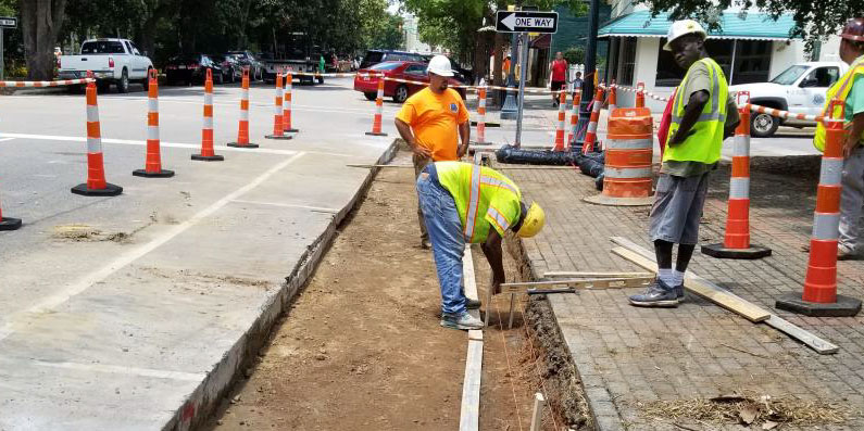 Downtown Utility Construction Update 8/3/18