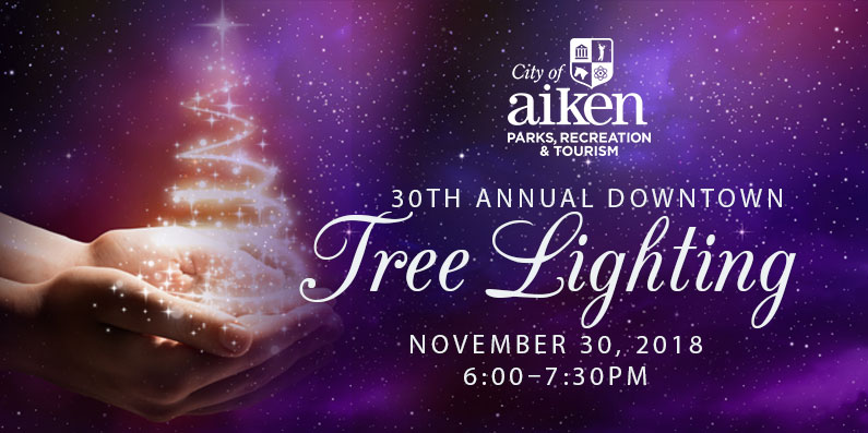 30th Annual City of Aiken Downtown Tree Lighting Ceremony