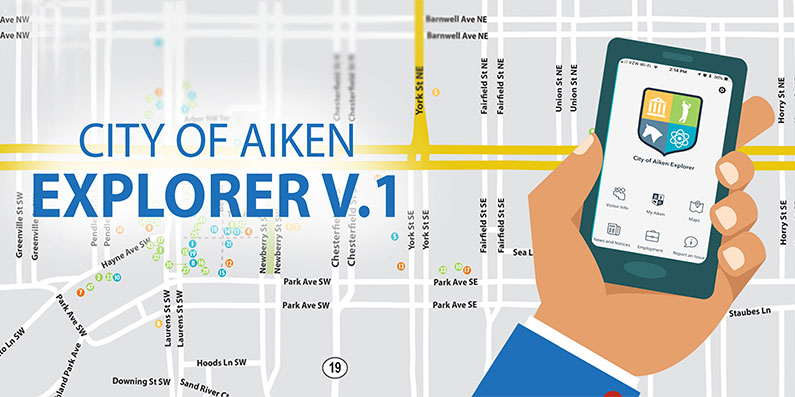 The City of Aiken Launches New Mobile App!
