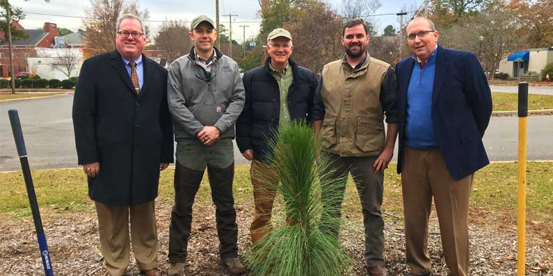 """Aiken Plants """"Pride of the South"""" Tree Celebrating Arbor Day"""