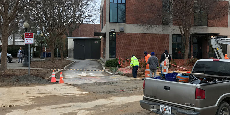 City of Aiken Finance Building Drive-Through Temporarily Closed