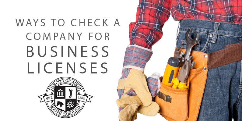 Ways to Check a Company for Business Licenses