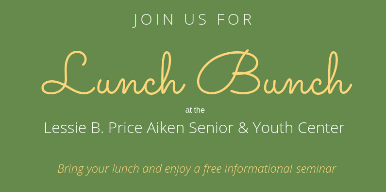 Lunch Bunch Entertainment and Seminar Series