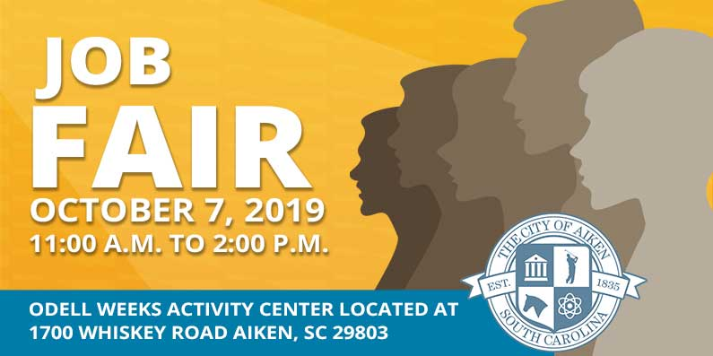 City of Aiken Schedules Job Fair October 7th