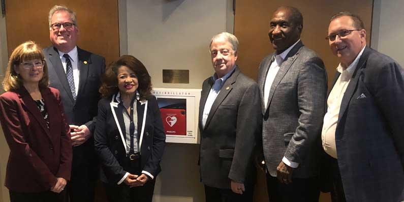 Downtown Aiken Adds Additional Automatic External Defibrillators