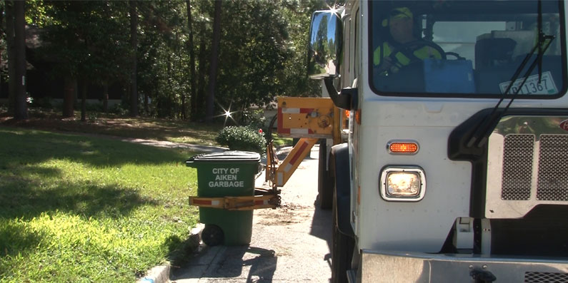 The City of Aiken Announces Arrival of Automated Side Loaders To Pick Up Solid Waste