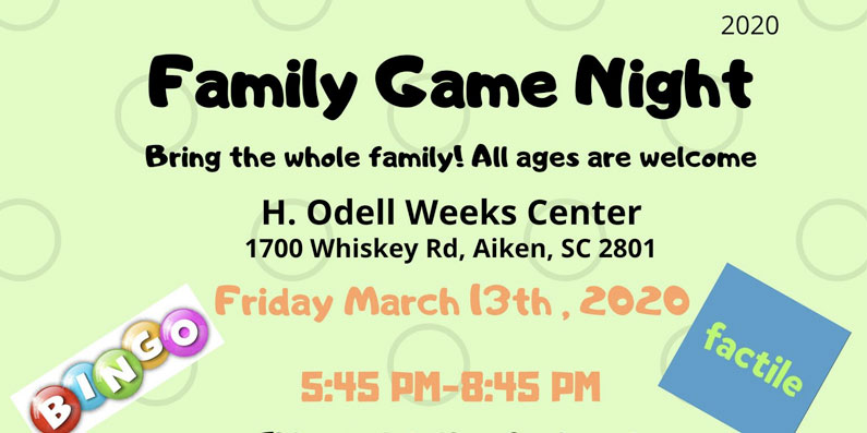 2nd Annual Family Game Night