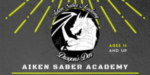 Advanced Aiken Saber Academy @ Odell Weeks Activity Center