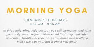 Morning Yoga @ Odell Weeks Activity Center