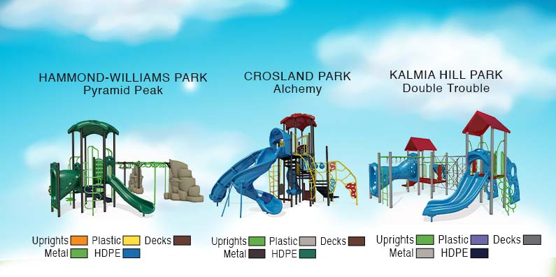 Upgrades Approved For 3 Local Playgrounds