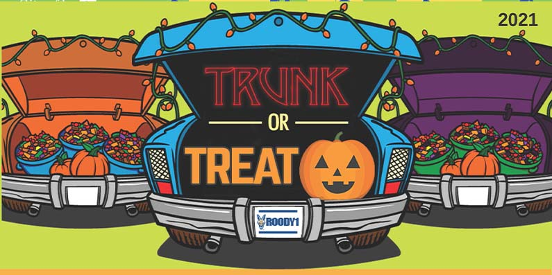 City of Aiken Parks, Recreation and Tourism Department Announce Trunk Or Treat