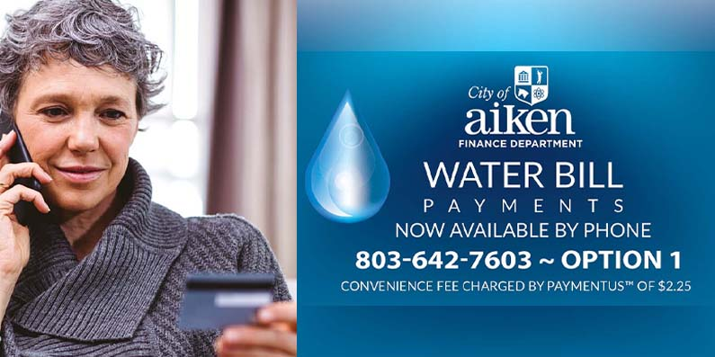 Make Payments for Water Bill by Phone